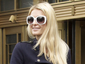 Paris Hilton, court, 2012