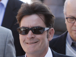 Charlie Sheen, court, assault