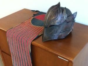 'John Carter' banner / helmet