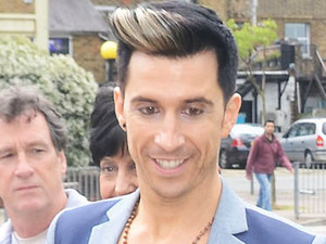 Russell Kane at the opening of  'Harry's World', a new fashion boutique owned by Harry Derbidge from 'The Only Way is Essex'