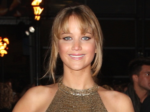 Jennifer Lawrence at the UK premiere of &#39;The Hunger Games&#39; held at the O2 on March 14, 2012
