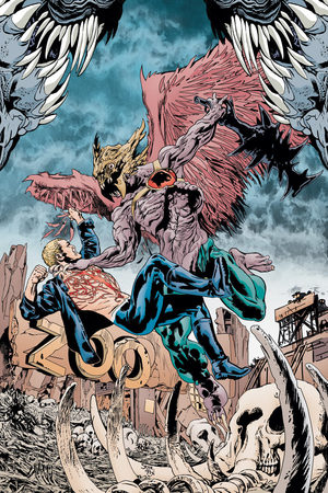 &#39;Animal Man&#39; artwork