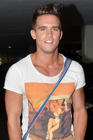 Gary Beadle from Geordie Shore.arrives at Dublin Airport