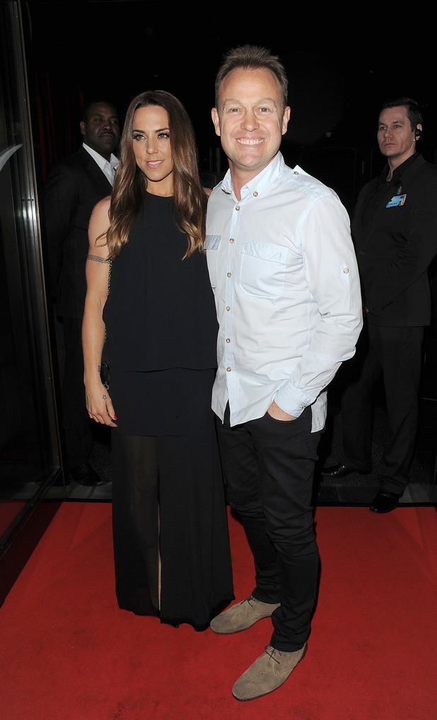 Melanie Chisholm and Jason Donovan