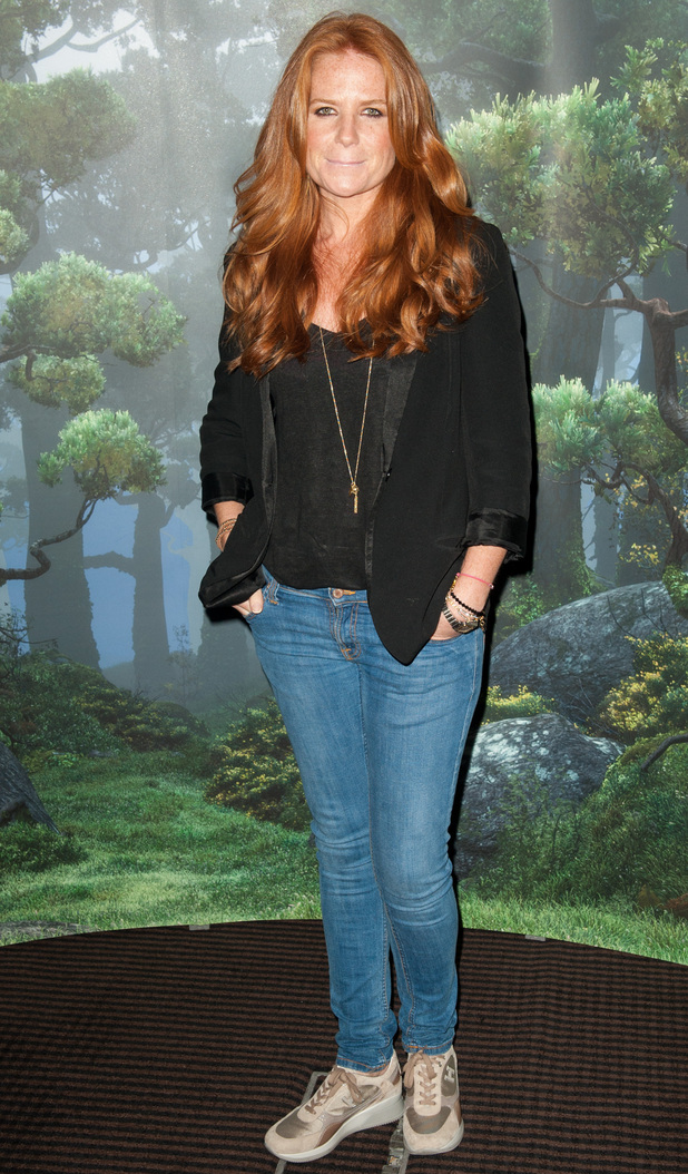 Patsy Palmer arrives for the screening of Disney Pixar's Brave at BAFTA, London.