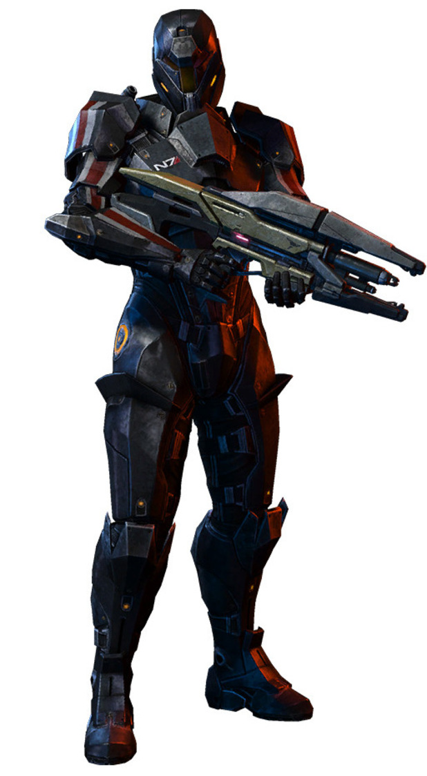 Mass Effect 3 'Earth' DLC Character