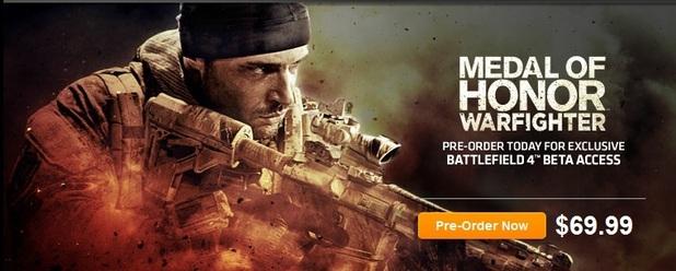 Battlefield 4 listing