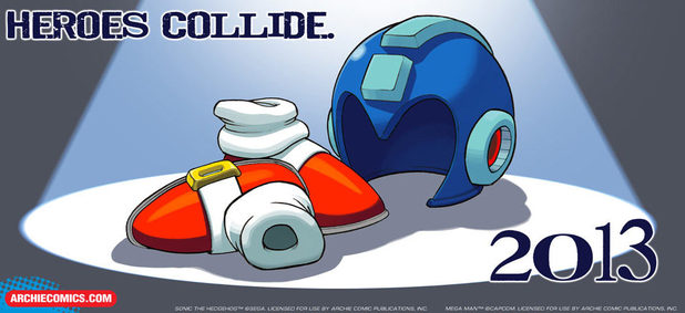 Sonic and Mega Man crossover