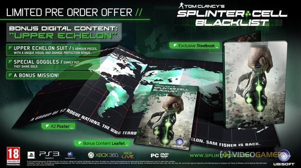 Splinter Cell: Blacklist Upper Echelon Edition