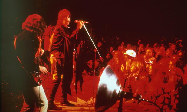 The Stones at Altamont 