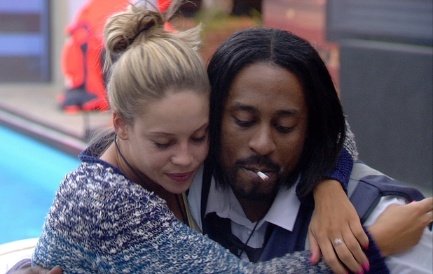 Big Brother 2012 - Day 37: Lauren and Adam