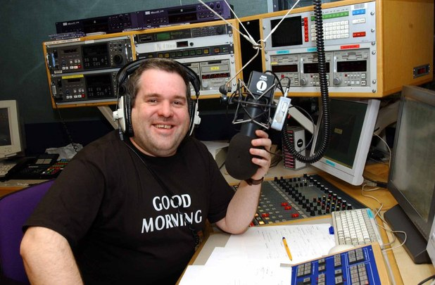 Chris Moyles career at Radio 1 in pics