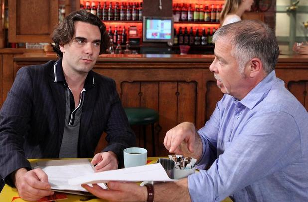 Luke confronts Eddie with the proof of his time in prison.