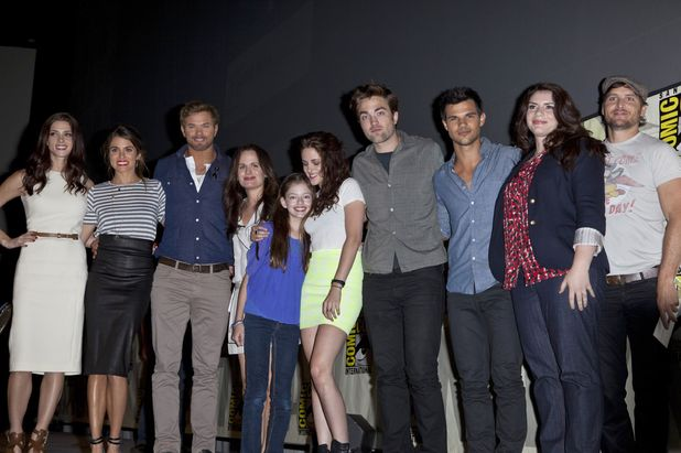 'The Twilight Saga: Breaking Dawn - Part 2' film panel.