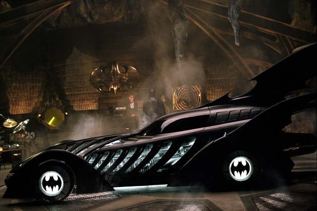 The Batmobile in 'Batman Forever'