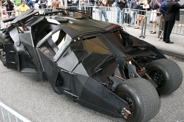Christopher Nolan's Batmobile