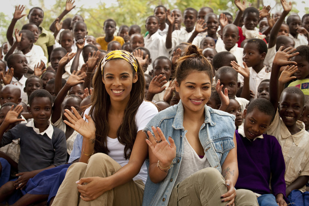 The Saturdays' Rochelle and Vanessa visit Tanzania for Comic Relief to meet girls