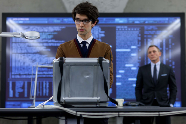 Ben Whishaw Q Skyfall