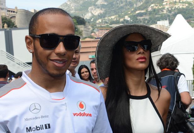 Lewis Hamilton and Nicole ScherzingerFormula One 2012 season - F1 Monaco Grand Prix - held at Circuit de Monaco - CelebritiesMonte Carlo, Monaco - 27.05.12