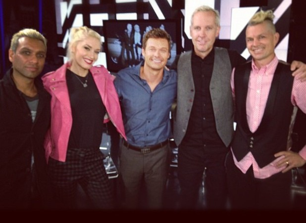 No Doubt and Ryan Seacrest