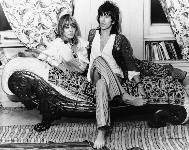 Keith Richards & Anita Pallenberg