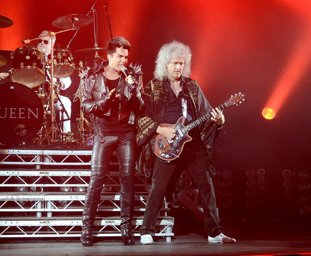 Adam Lambert and Queen in concert