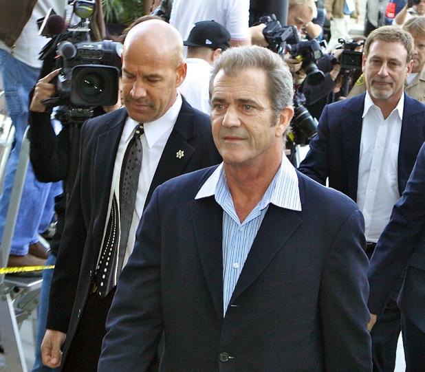 Mel Gibson, court, 2010
