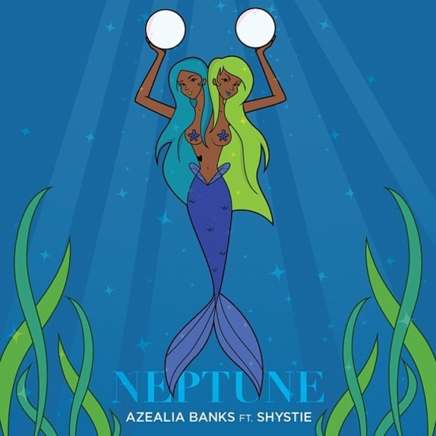 Azealia Banks and Shystie 'Neptune' artwork