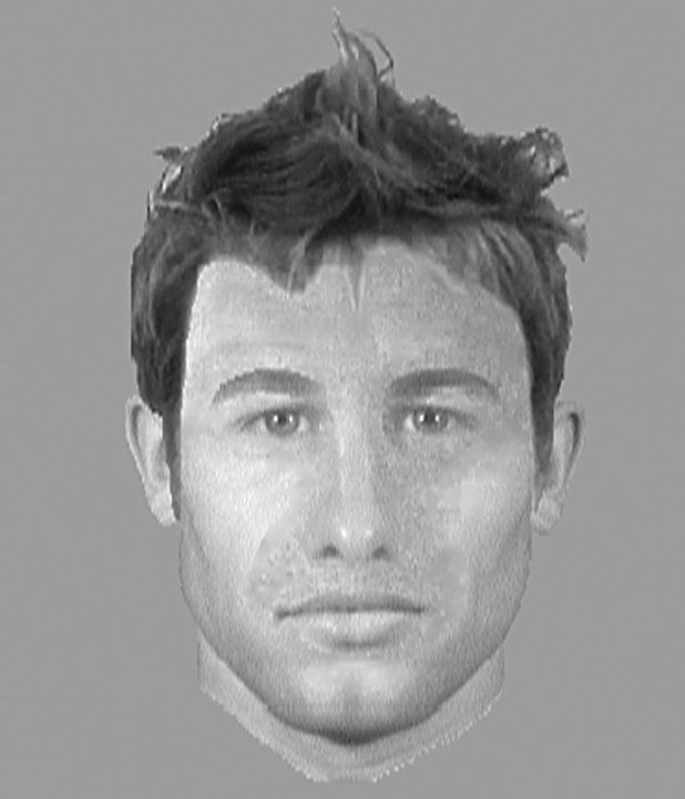 E-fit computer-generated facial composite of Fifty Shades of Grey book character Christian Grey