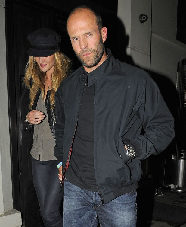 Rosie Hungtington-Whiteley and Jason Statham