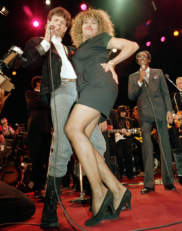 Mick and Tina Turner
