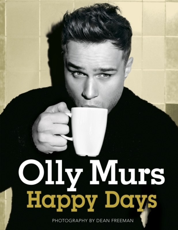 Olly Murs 'Happy Days' book cover