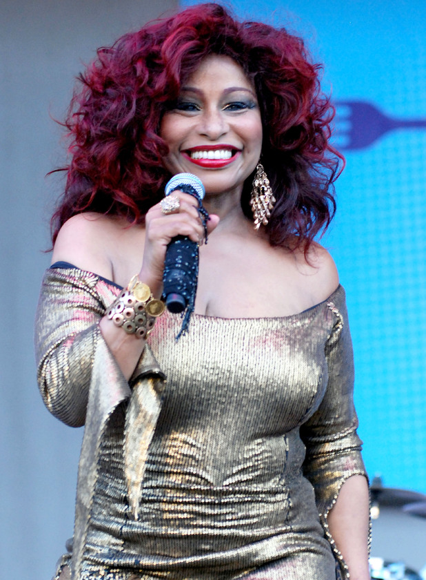 Chaka Khan performing in Chicago.