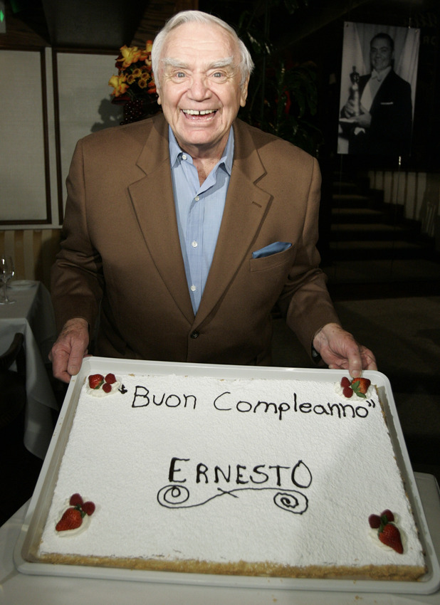 Ernest Borgnine turns 90