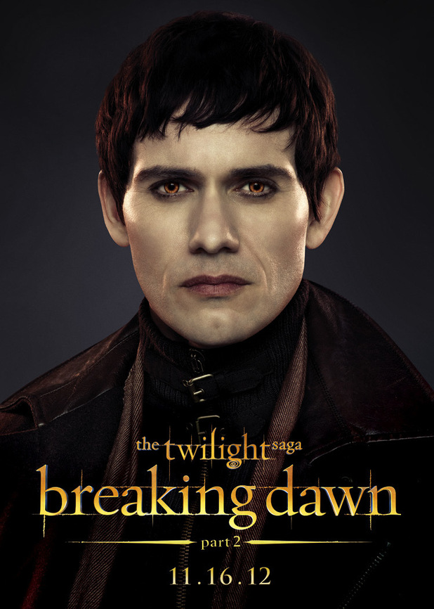 The Twilight Saga: Breaking Dawn Part Two - Eleazar from The Denali Coven.