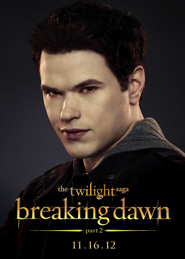 The Twilight Saga: Breaking Dawn Part Two - Emmett.