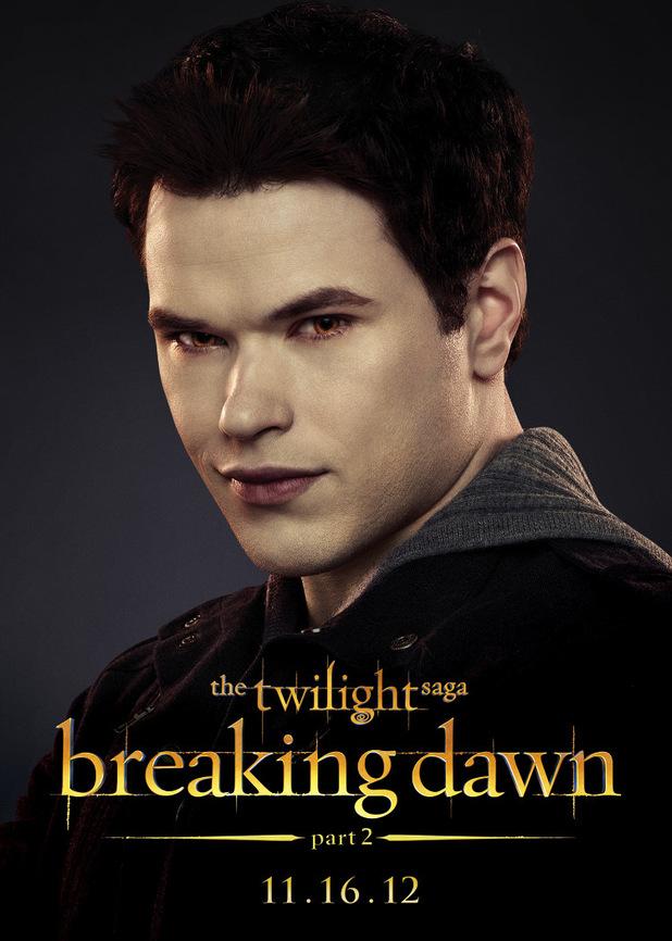 The Twilight Saga: Breaking Dawn Part Two - Emmett.