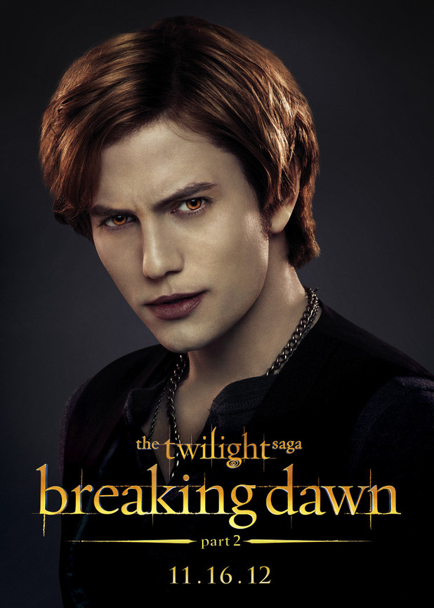 The Twilight Saga: Breaking Dawn Part Two - Jasper.