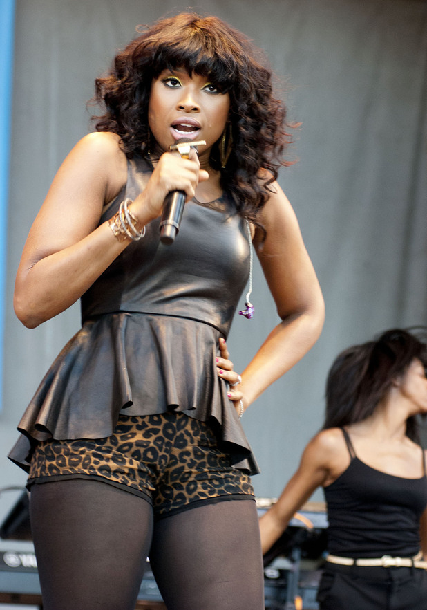 Jennifer Hudson performs at Taste of Chicago 2012,