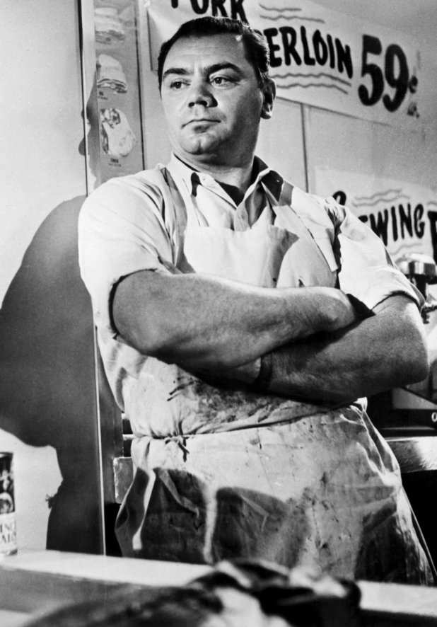 Ernest Borgnine in 'Marty', 1955