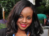 Keisha Buchanan attends the Barclaycard Unwind Lounge at Day 2 of the O2 Wireless festival