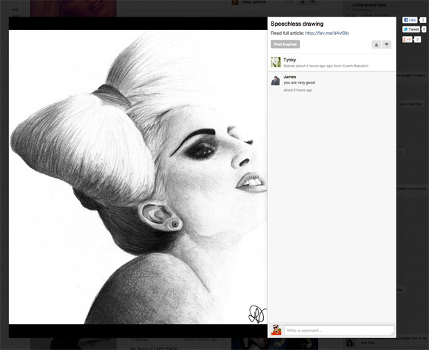 Lady GaGa's social network for fans