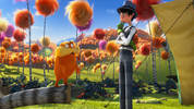 Zac Effron introduces his new animated movie 'The Lorax'.