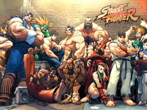 &#39;Street Fighter&#39; artwork