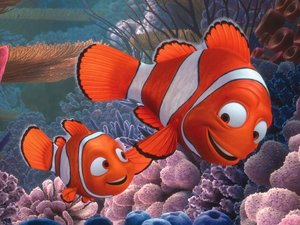 Film still from the 'Finding Nemo' movie