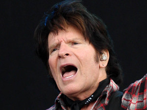 John Fogerty plays at the Hard Rock Calling music festival in Hyde Park, London