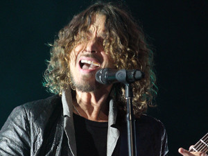 Chris Cornell of Soundgarden plays at the Hard Rock Calling music festival in Hyde Park, London