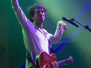 Snow Patrol performing live on stage during the Optimus Alive Festival in Lisbon