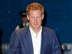 Prince Harry at Batman: Dark Knight Rises premiere