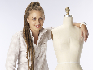 Project Runway designer Alicia Hardesty